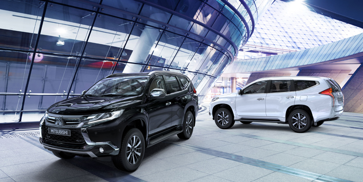The world is yours in the new montero sport