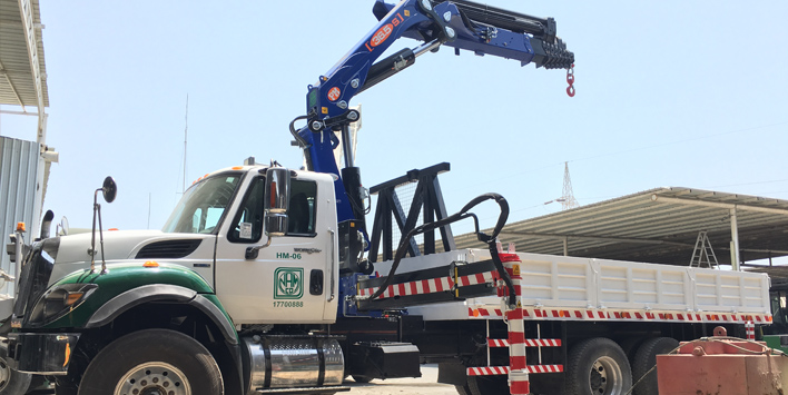 Zayani Motors achieve sale of their biggest italian manufactured crane