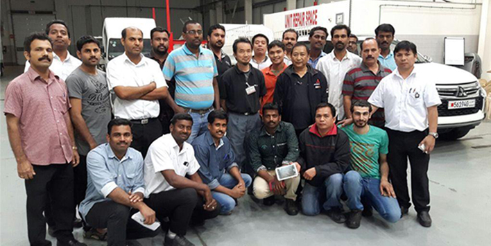 Zayani Motors holds Staff Training Session