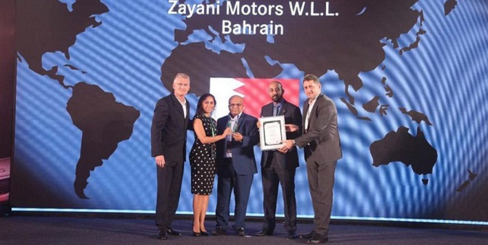 ZAYANI MOTORS RECEIVES 3RD BEST SALES AWARD