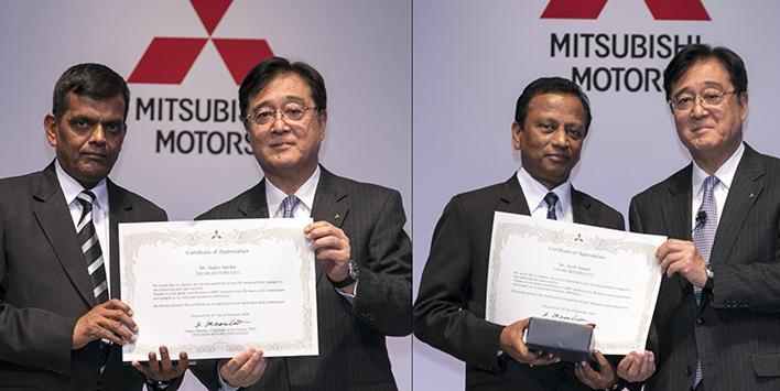 EMPLOYEES OF ZAYANI MOTORS ATTEND MITSUBISHI MOTORS GLOBAL DISTRIBUTION MEETING
