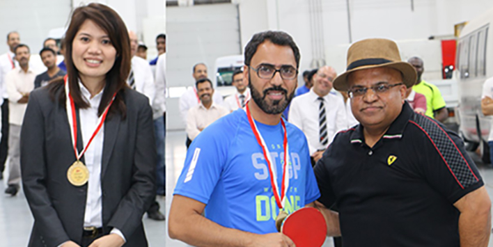 ZAYANI MOTORS HOLDS EMPLOYEE TABLE TENNIS TOURNAMENT