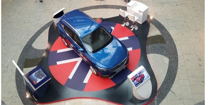 Zayani Motors Activates MG ZS at City Centre