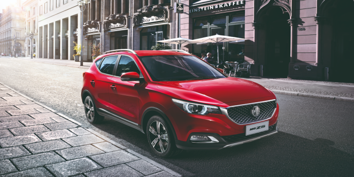 MAKE A BOLD STATEMENT WITH THE ALL NEW MG ZS