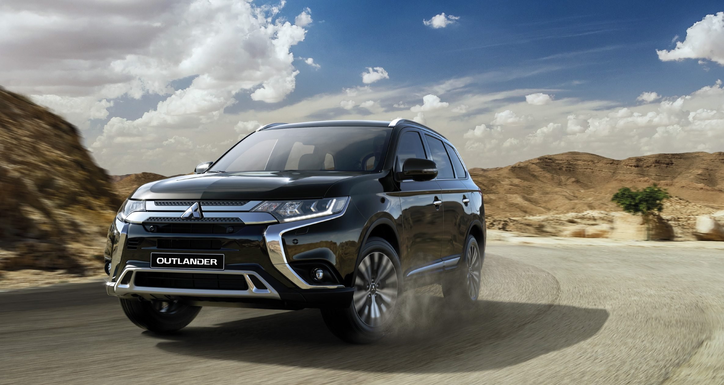 Mitsubishi Outlander; The Dream Mid-Size SUV