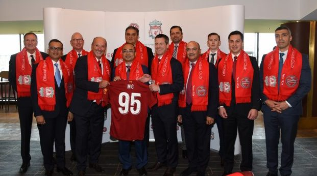 MG Motor becomes the Global Partner of Liverpool Football Club