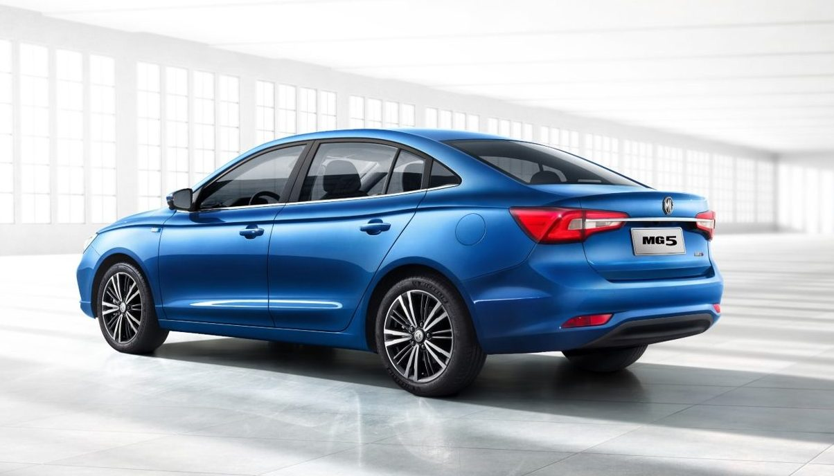 Now on sale in the Middle East – the all-new, technologically-advanced MG5 compact sedan