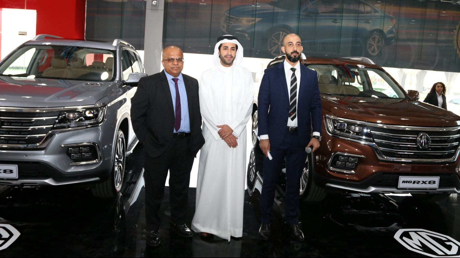 'Zayani Motors' Raise Curtain on All New 'MG RX8'