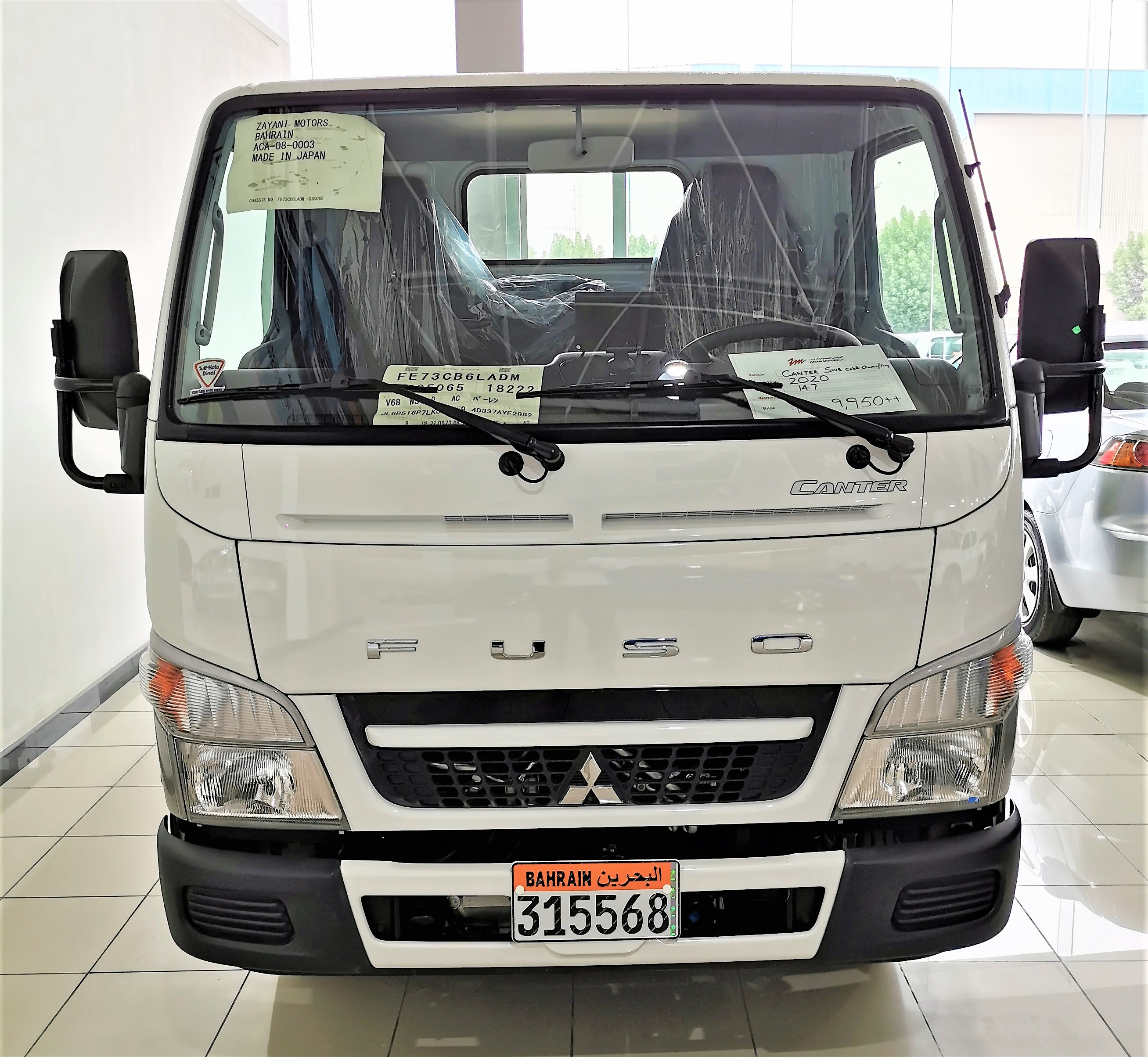 Canter SWB Cab & Chassis A/C