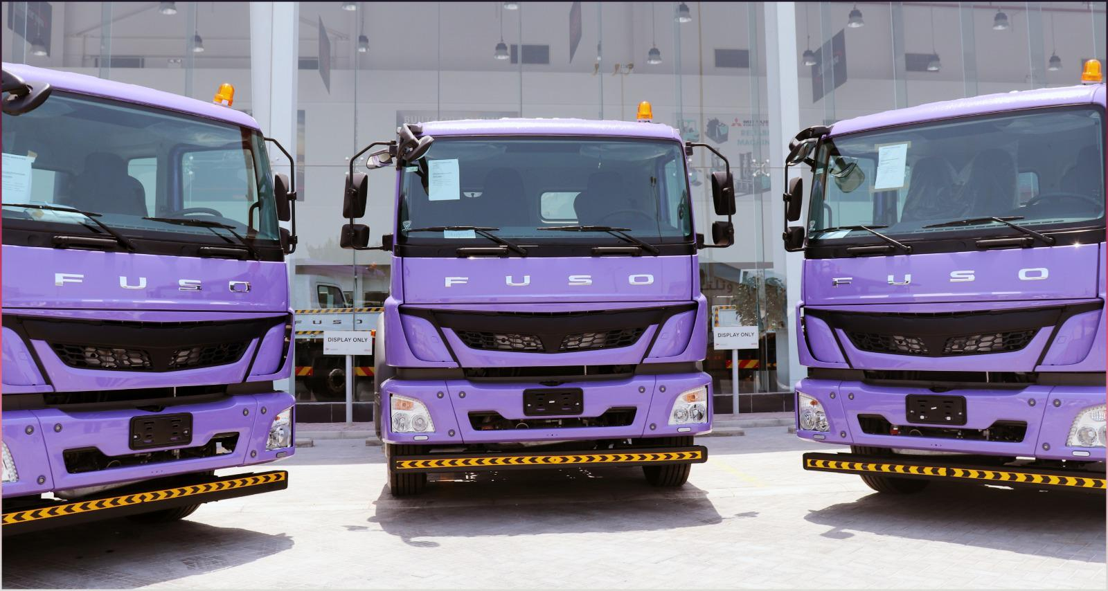 'Zayani Motors' Delivers Fleet of 'Mitsubishi Fuso' to 'Al Fateh Group'