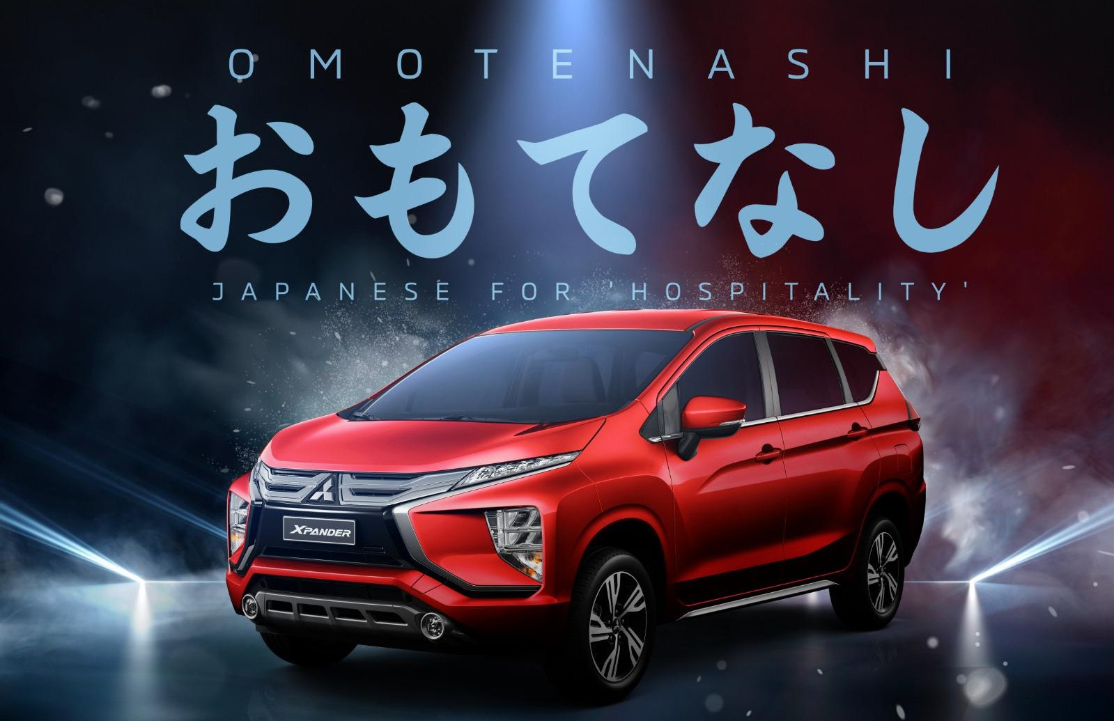 Mitsubishi Xpander debuts in the Middle East