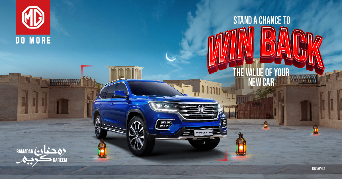 'Zayani Motors' Announce Amazing Ramadan Offers for 'MG' Customers