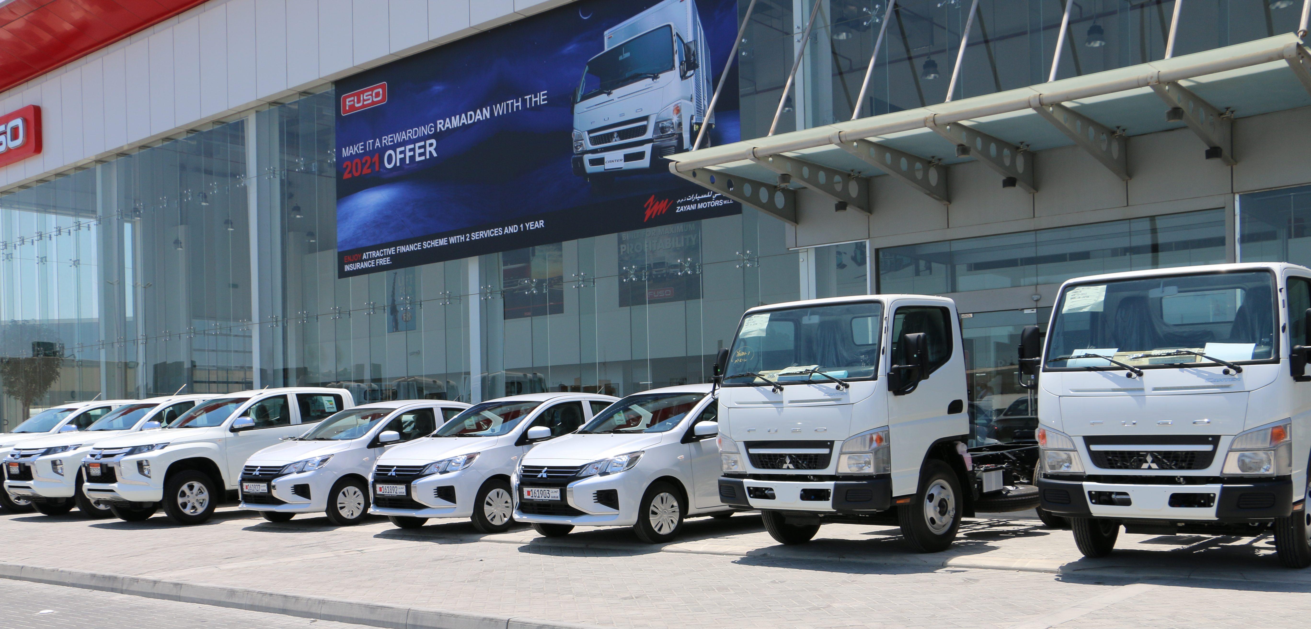 'Zayani Motors' Delivers Fleet of 'Mitsubishi' Vehicles to 'Bahrain Gas'