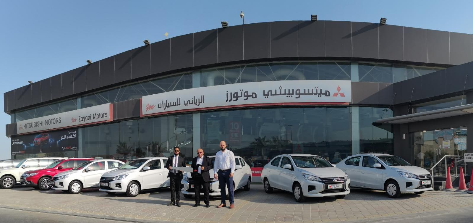 'Zayani Motors' Delivers First Batch of Mitsubishi Vehicles to 'Joubar Machinery Hiring and Cargo'