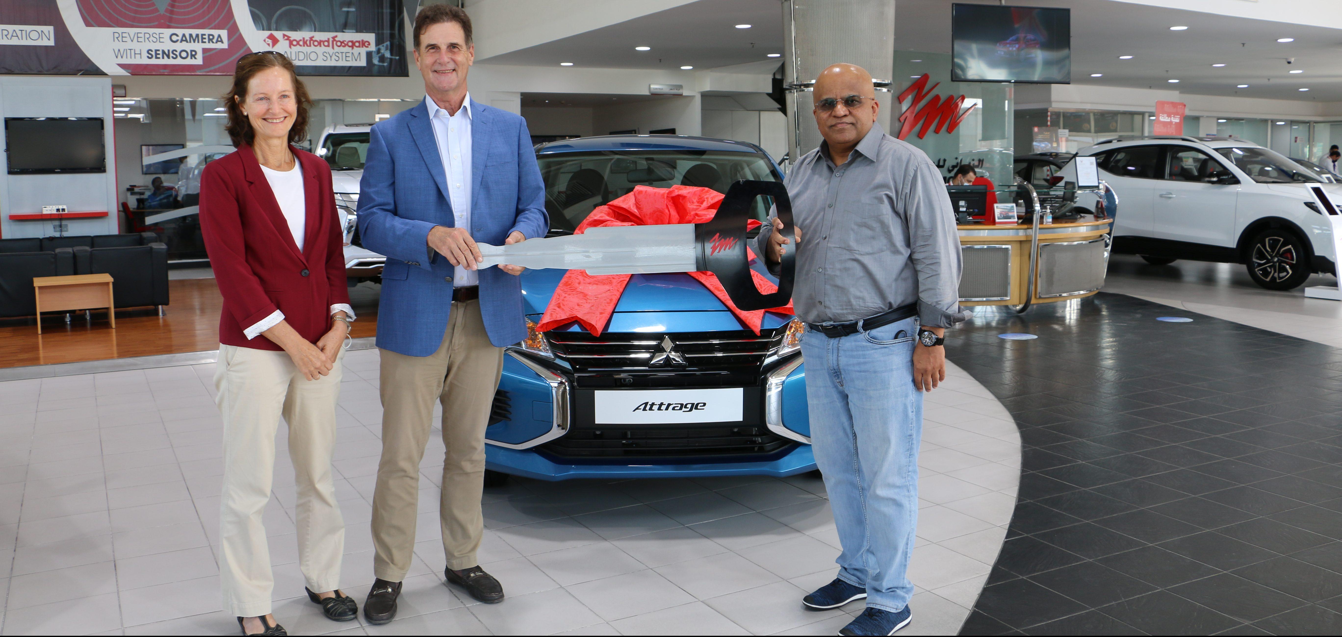'Mitsubishi Motors' Announce Lucky Winner of its Ramadan Promotion
